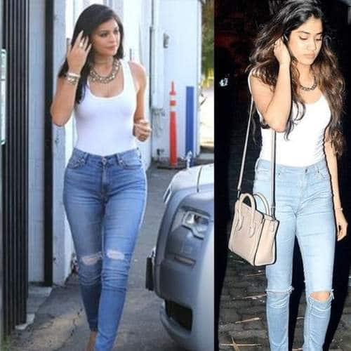 10 Times Janhvi Kapoor Took Style Inspirations From Other Celebrities