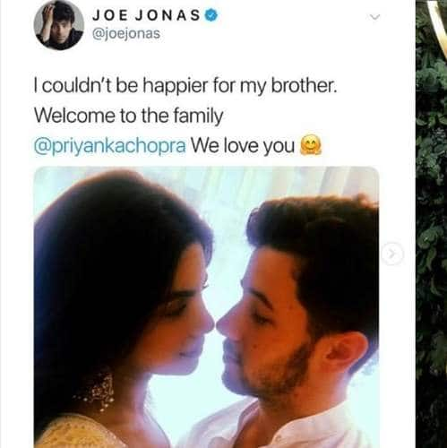 Jonas Family Extends A Warm Welcome To Priyanka Chopra With These Lovely Posts