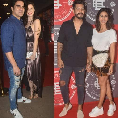 In Pictures: Arbaaz Khan And Girlfriend Georgia And Several TV Stars Spotted At This Event!