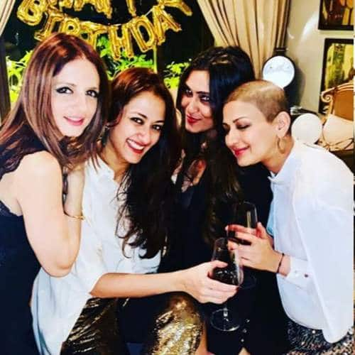 In Pictures: Here Is How Sonali Bendre Celebrated Her Birthday And The New Year!
