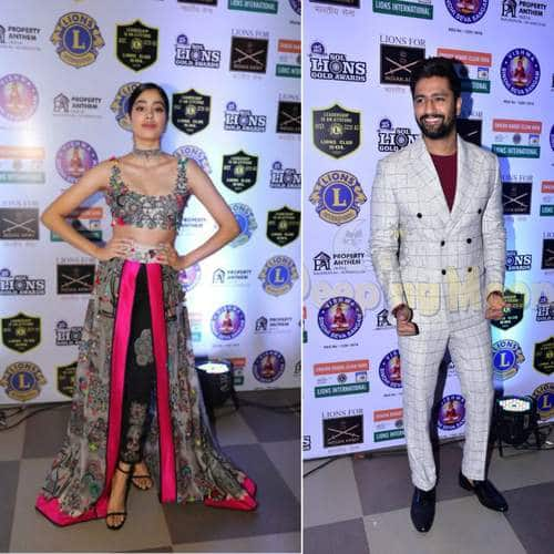 Bollywood And TV Celebs Grace The Red Carpet Of Lions Gold Awards