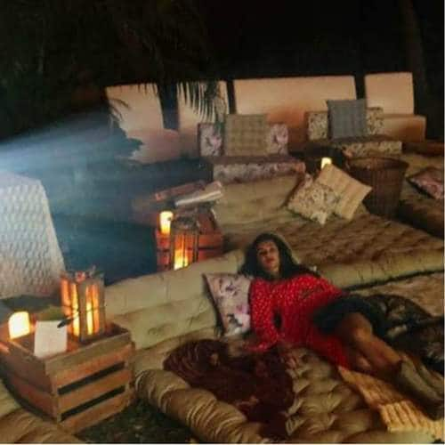 Farhan Akhtar And Shibani Dandekar's Movie Night Set Up Are Goals That We Cannot Reach