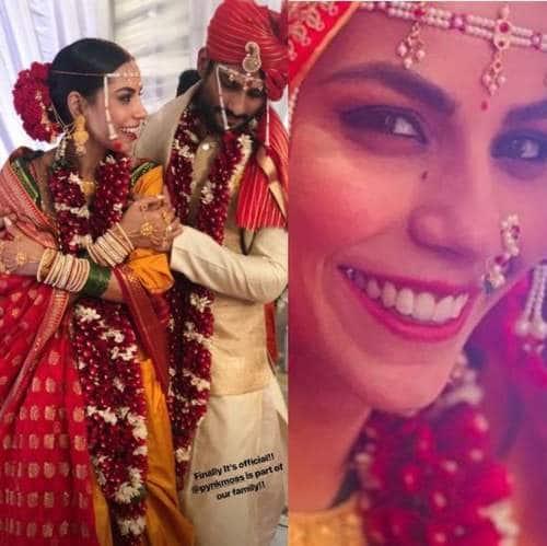 तस्वीरें: बाग़ी 2 के एक्टर प्रतीक बब्बर ने की गर्लफ्रेंड सान्या सागर से शादी !