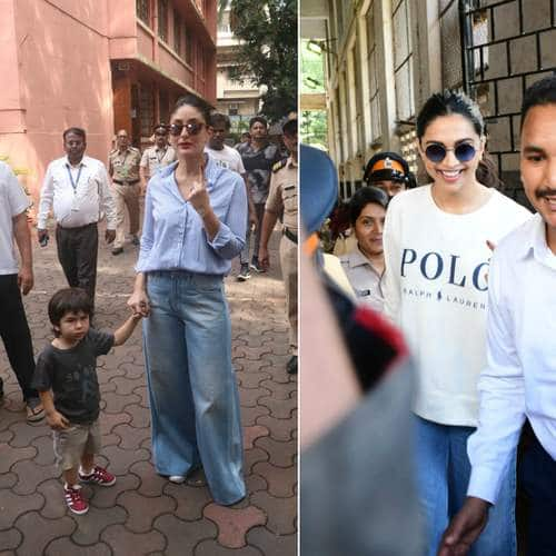 Maharashtra State Elections: Bollywood Celebrities Reach The Polling Station To Cast Their Votes