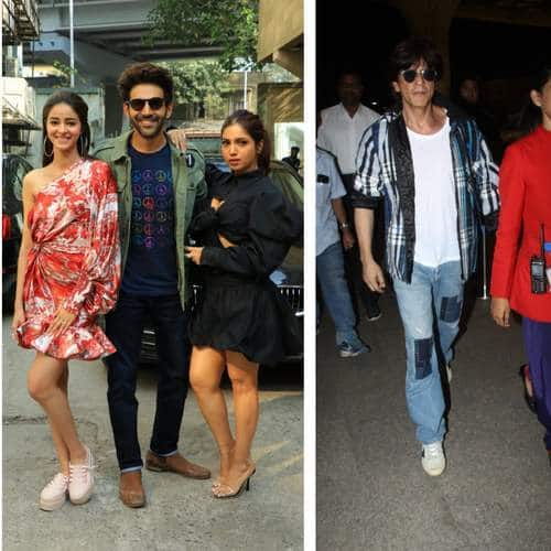Spotted: Kartik, Ananya, Bhumi For Pati Patni Aur Woh, Kriti And Arjun For Panipat, Celebs On A Promotion Spree Today!
