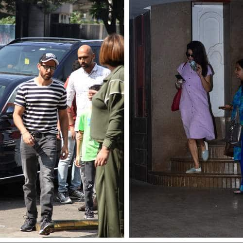 Spotted: Hrithik Roshan And Family Joins Steps Out For Lunch, Marjaavaan Team Promotes Their Film