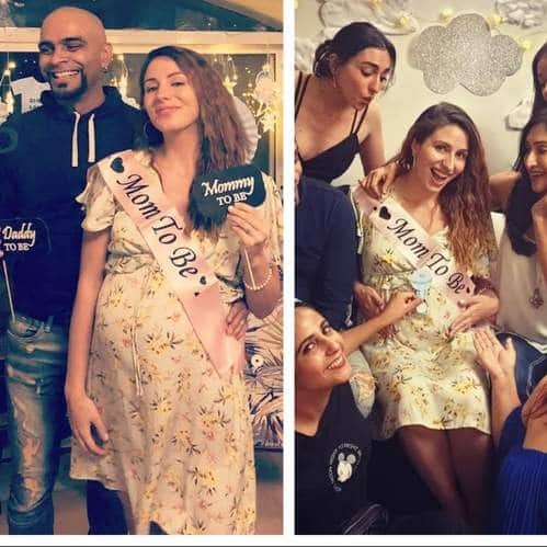 Raghu Ram And Natalie Di Luccio Have The Glow Of Parents To Be In These Pictures From Her Baby Shower