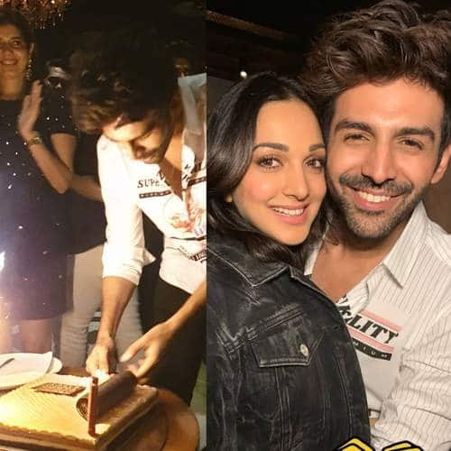 Kartik Aaryan Birthday Bash: The Actor Parties The Night Away with Co-Stars Kaira Advani, Janhvi Kapoor, Ananya Pandey; See Pictures