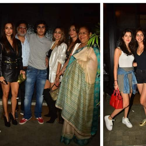 Malaika Arora And Arbaaz Khan Come Together For Son Arhaan Khan's 17th Birthday, Ananya Pandey, Shanaya Kapoor And Others Join In