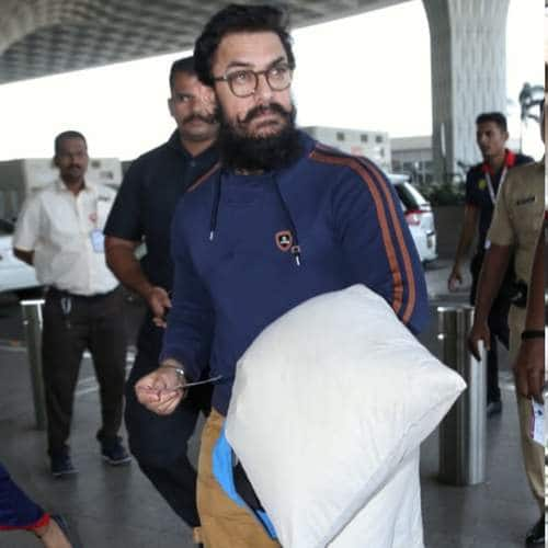 Spotted: Aamir Khan Carries A Pillow To The Airport, Vicky Kaushal Channels His Inner GoT Fan!