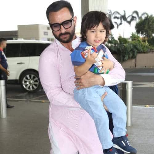 Spotted: Saif Ali Khan Carries Taimur To The Airport, Alia Bhatt Spotted With Family At Sister Shaheen's Book launch!