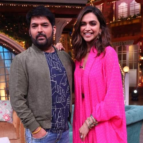 Spotted: Kapil Sharma Shoots With Deepika Padukone, Nargis Fakri Is Back In Town!