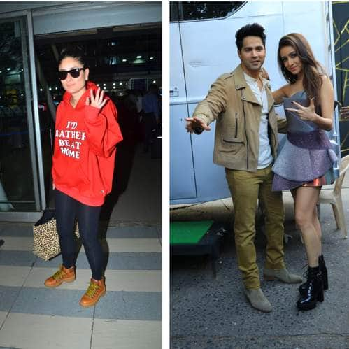 Spotted: Kareena Kapoor Spreads Swag At The Airport, Varun-Shraddha Promote Street Dancer 3D