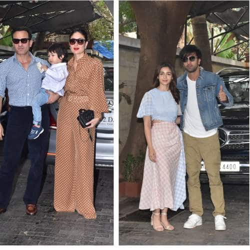 Alia Bhatt Joins Ranbir Kapoor For The Annual Kapoor Family Christmas Luncheon But It Is Taimur As Usual Stealing The Spotlight
