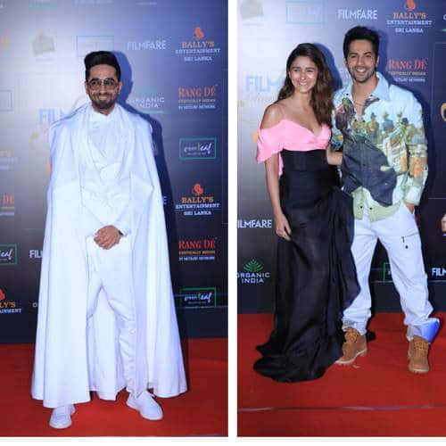 Filmfare Glamour And Style Awards 2019: From Alia And Varun's Cute Red Carpet Banter To Ayushmann's Cape Moment, It Was Surely A Night To Remember!