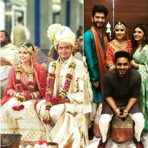The Buddy Project Actress Palak Jain And Tapasvi Mehta's Marriage Pictures Will Truly Melt Your Hearts