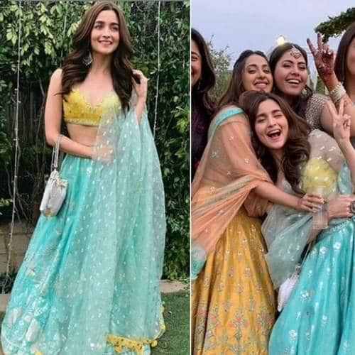 In Pictures: Alia Bhatt Steals All The Limelight At School Friend's Wedding In Delhi