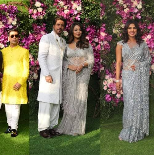Bollywood Celebs Are Turning On The Glam In Akash Ambani-Shloka Mehta Wedding!