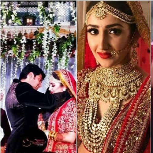 Sayyesha Saigal And Arya Are Finally Married And The Wedding Was Nothing Short Of A Royal Affair