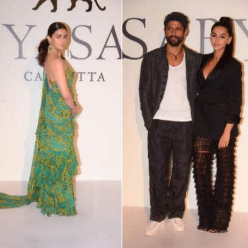 Bollywood Celebs Turn Up The Heat As Sabyasachi Celebrates 20 Years In Fashion