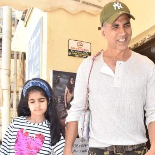 In Pictures: Akshay Kumar, Hrithik Roshan And Shilpa Shetty Spotted With Their Kids!