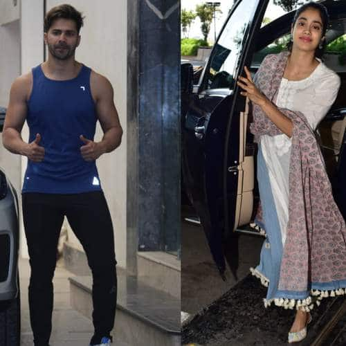 Spotted: Janhvi Stuns Again On Her Way To The Airport, Ananya, Malaika, Varun Sweat It Out!