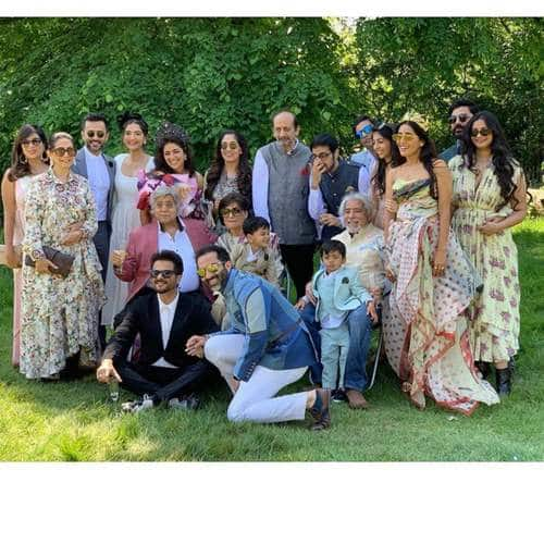 In Pictures: Sonam Kapoor And Family Attends Cousin Priya Singh's Wedding Festivities In London
