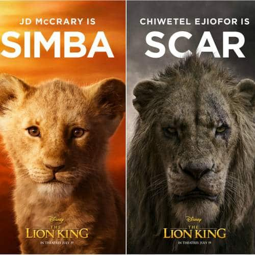 Lion King Characters Posters Are Finally Hear - Take A Look At Simbha, Scar and The Rest Of The Cast