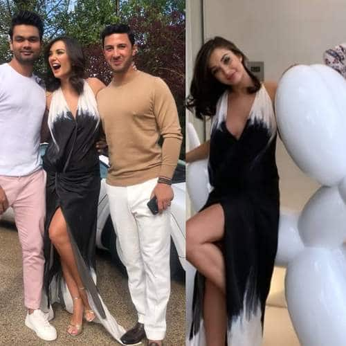 Check Out The Pictures And Videos Of Amy Jackson's Engagement With Boyfriend George Panyiotou!