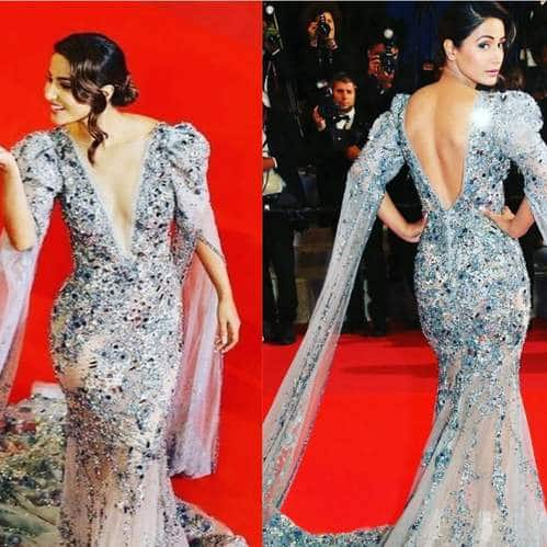 In Pictures: Hina Khan Makes A Glorious Cannes Red Carpet Debut!