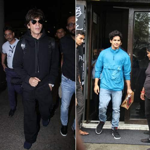 Spotted: Shah Rukh Khan Stuns In An All Black Look,  Shibani-Farhan And Ishaan Step Out For A Sunday Lunch