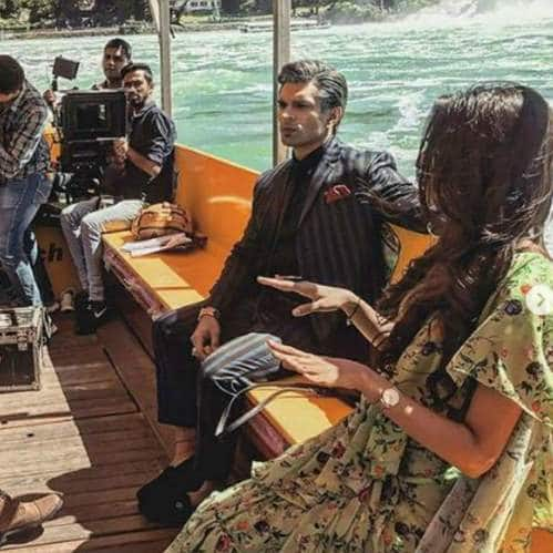 Kasautii Zindagii Kay Team Shoots In Switzerland, Erica, Parth And Karan Have A Ball
