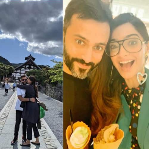 sonam kapoor kyoto, holiday for Subodh
