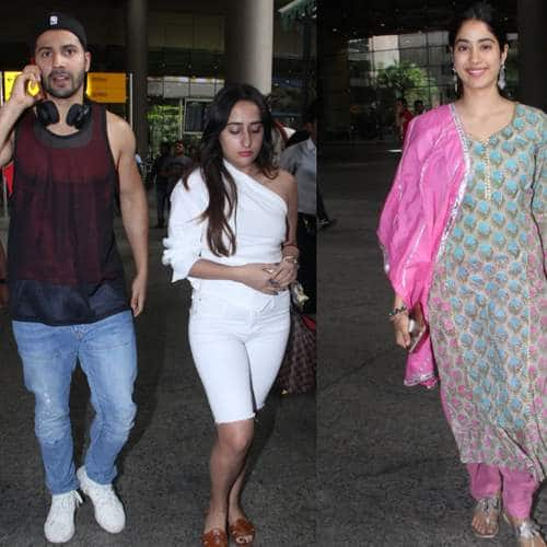 Spotted: Deepika Perfects The Airport Look, Varun-Natasha Snapped Together, Janhvi Makes Two Appearances.