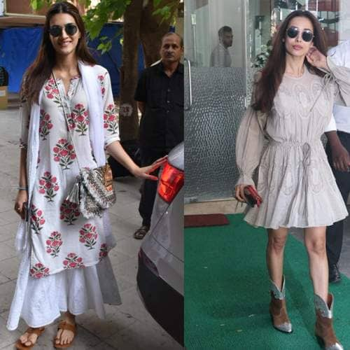 Spotted: From Janhvi Kapoor To Kriti Sanon, Let The Bollywood Divas Show You How To Stay Cool This Summer!