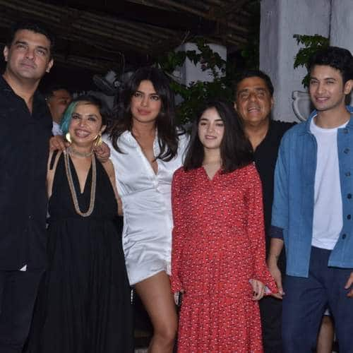 Priyanka Chopra Lights Up The Sky Is Pink Wrap Up Party! See Pictures...