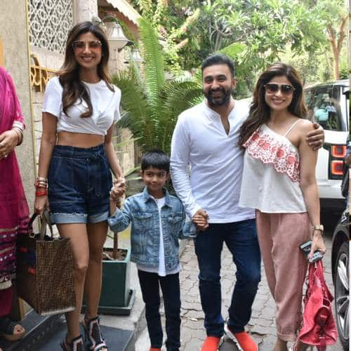 Spotted: Shilpa Shetty Kundra Out On A Birthday Brunch With Family, Kartik Aaryan Sports A New Look!