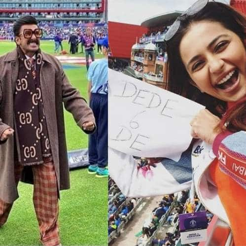 Bollywood Celebs At the India Pakistan World Cup Match