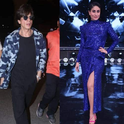 Spotted: Shah Rukh Khan Snapped At The Airport, Kareena Kapoor Khan Is Back From London For Dance India Dance!