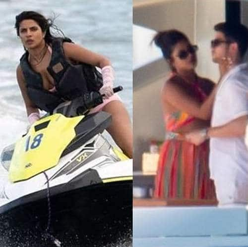 Priyanka Chopra Powerboating In A Pink Bikini In Miami Is The Kind Of Vacay Goals Only She Can Set