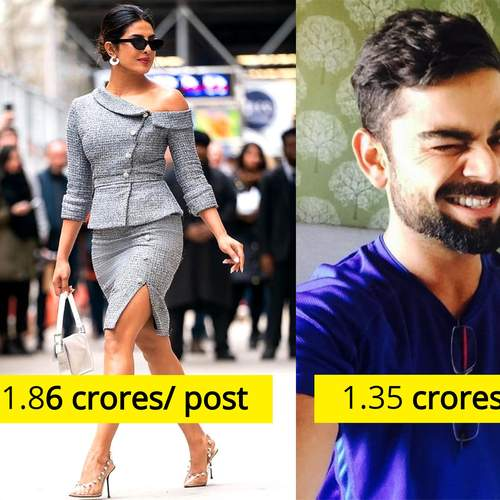 Priyanka Chopra And Virat Kohli Makes It To The Instagram's Richest List; Guess How Much They Are Paid For Each Post?
