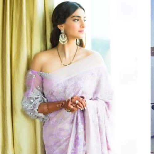 Sonam Kapoor To Ayushmann Khurrana Here's How Bollywood Celebs Have Taken The Saree Twitter Challenge