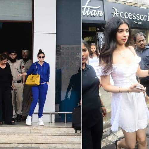 Spotted: Alia Bhatt Comes Back To Mumbai After Her Schedule Wrap, Tara Sutaria Bonds With Tiger Shroff's Sister Krishna