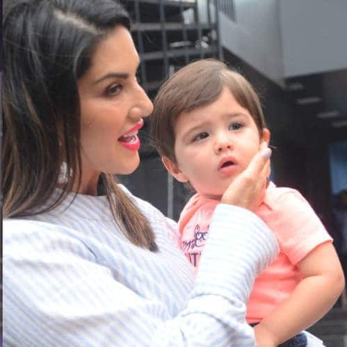 Spotted: Diljit Reunites With Kareena Kapoor, Sunny Leone Snapped With Her Son!