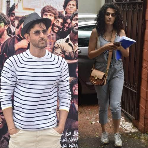 Spotted:  Arjun-Malaika Return From NYC Sojourn, Hrithik Roshan And Mrunal Thakur Promote Super 30 With Fervor