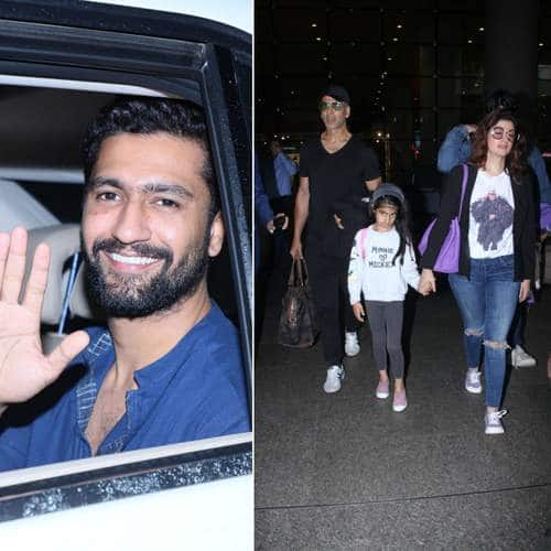 Spotted: Akshay Kumar Descends At Mumbai Airport With Family, Celebs Rush To Kaykesha Patel's House As Her Husband Passes Away