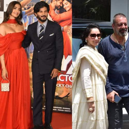 Spotted: Sonam-Dulquer, Sanjay-Jacky, Nia-Ravi Go Around Town Tom Promote Their Upcoming Projects!