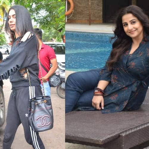 Spotted: Vidya,Taapsee And  Kirti Promote Mission Mangal In Style; Khushi Kapoor Looks Breezy!