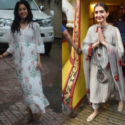 Spotted: Janhvi And Ishaan Sweat It Out, Sonam Kapoor Visits Shani Temple!