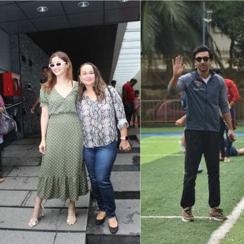Spotted: Alia Bhatt Spends Time With Mom Soni Razdan, Ranbir Kapoor Gears Up For Some Football